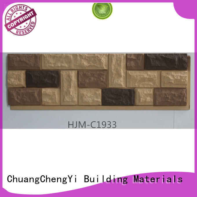 ChuangChengYi New faux brick wall panels supplier for sign