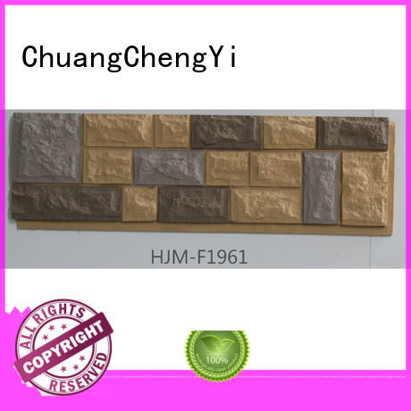 ChuangChengYi New faux brick veneer Supply for hotels