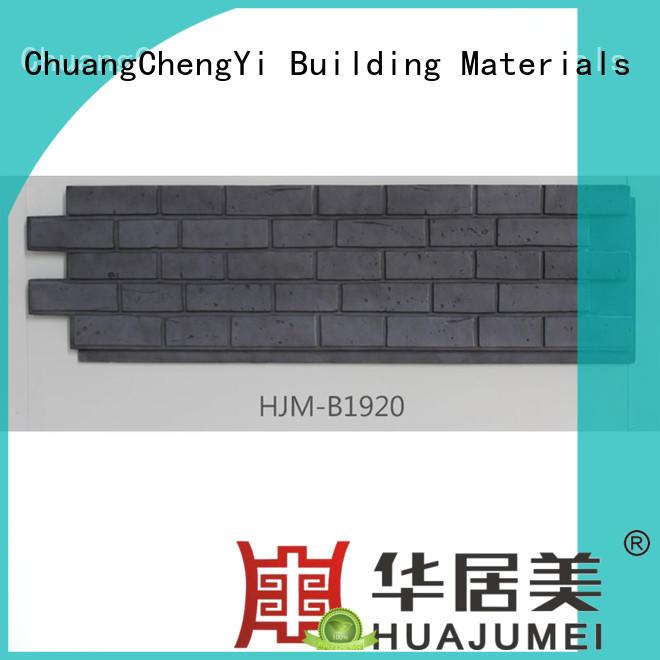 ChuangChengYi Brand interior fake brick wall panels hjm factory