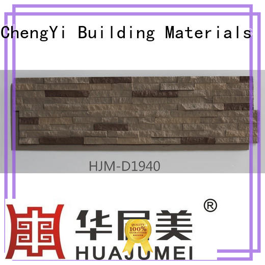 fire resistant faux rock pillars polyurethane in china for retailer