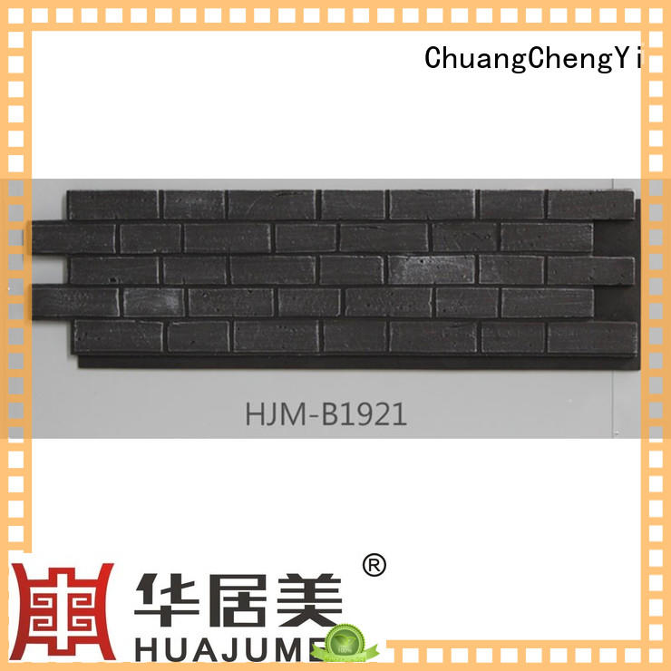 ChuangChengYi cheap faux stone producer for accent walls