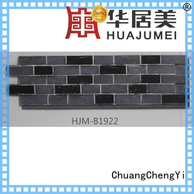 ChuangChengYi weatherproof stone wall panels for business for accent walls