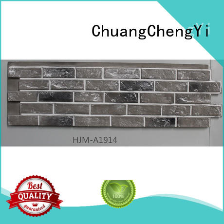 cheap faux stone siding panels archtitecter for sign ChuangChengYi