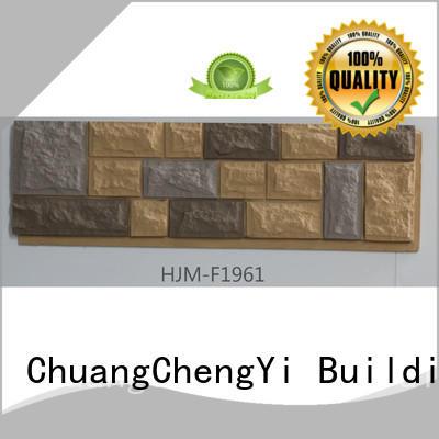 ChuangChengYi Brand wall panel pu faux brick panels