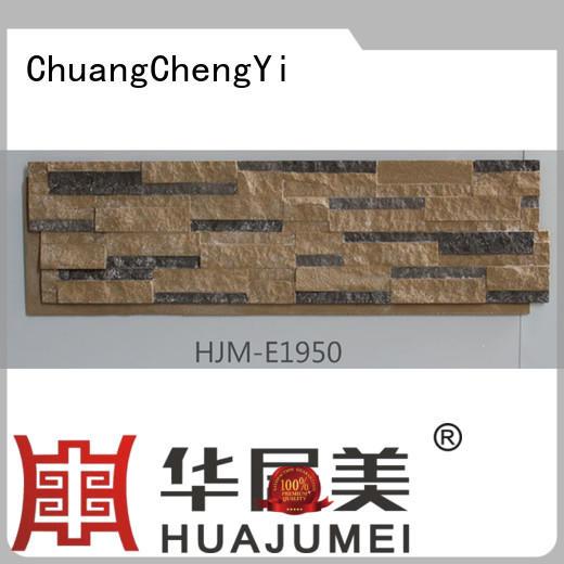 ChuangChengYi Brand material series environmental faux stone exterior siding