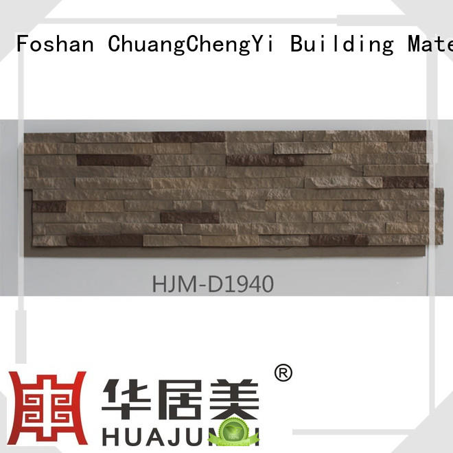 durable faux brick columns hjmd1942 factory price for houseowner