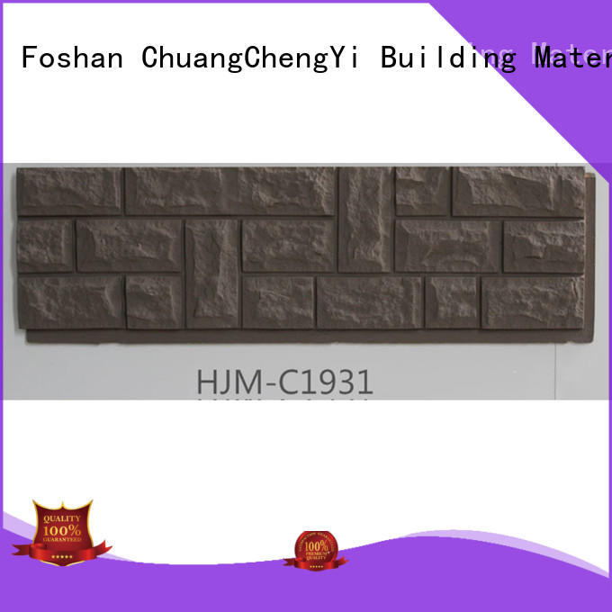ChuangChengYi New faux stone products factory price for retailer