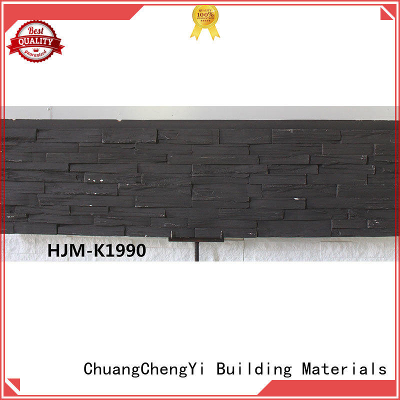 fire resistant cultured stone siding by bulk for retailer ChuangChengYi