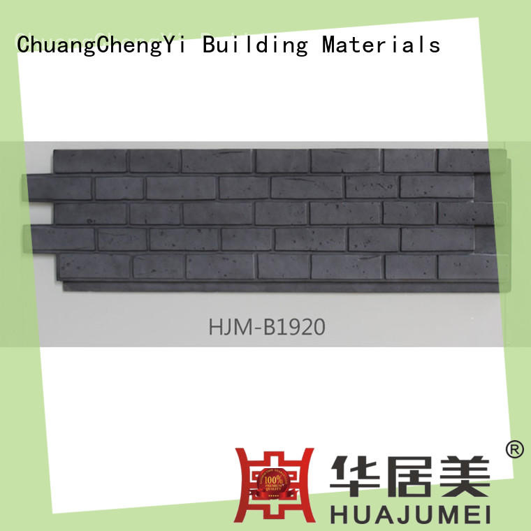 ChuangChengYi hjma1911 where to buy faux stone for fireplace factory price for hotels