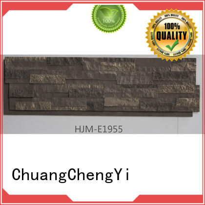 ChuangChengYi hjme1952 faux river rock siding factory price for houseowner