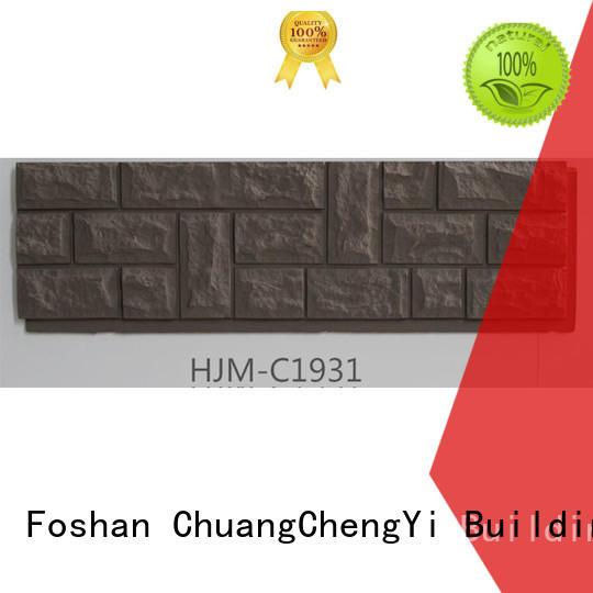 ChuangChengYi Custom faux stone brick panels bulk production for houseowner