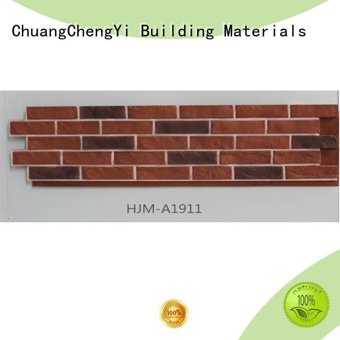 ChuangChengYi materials faux limestone veneer funk for retailer