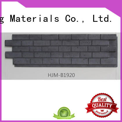 ChuangChengYi hjma1911 fake stone siding bulk production for amusepark