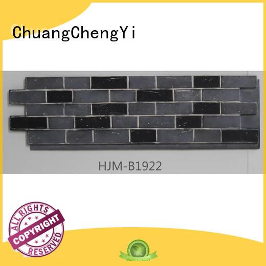 material exterior clutured pu ChuangChengYi Brand fake brick wall panels supplier