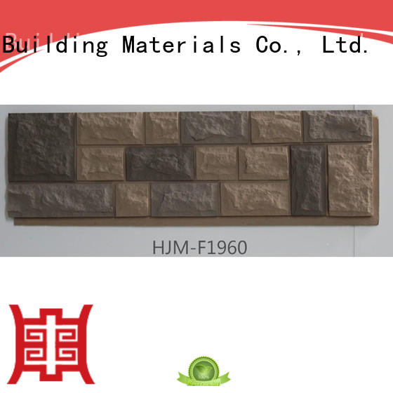 fashion design best faux stone install supplier for houseowner
