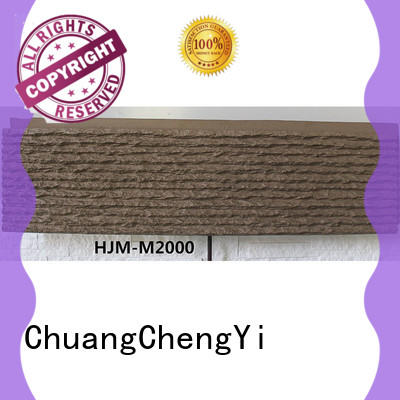 ChuangChengYi stone barn wood wall bulk production for accent walls