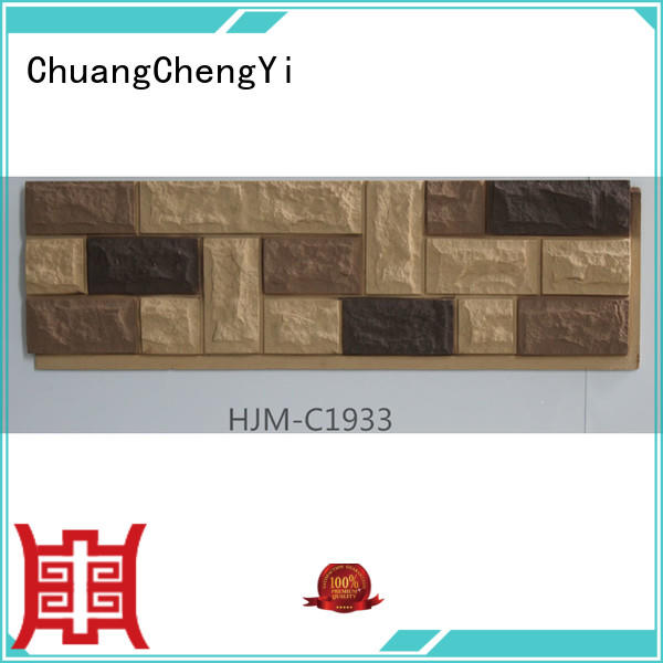 Wholesale interior faux brick panels for interior walls ChuangChengYi Brand