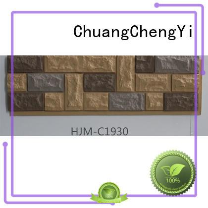 castle panel exterior faux brick panels for interior walls ChuangChengYi Brand
