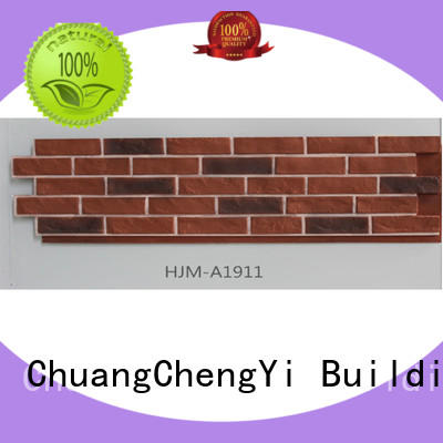 ChuangChengYi durable faux sandstone funk for sign