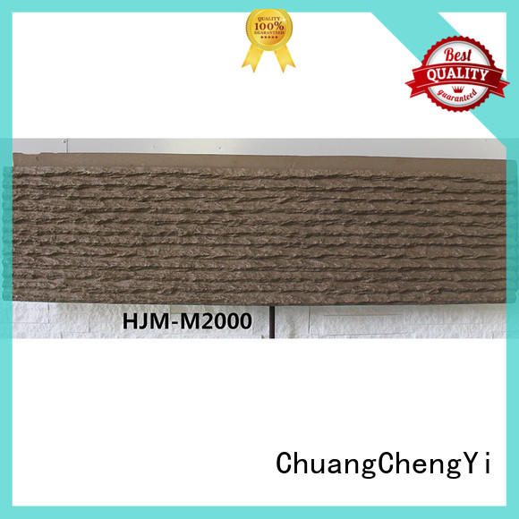 ChuangChengYi flowing faux panels exterior manufacturers for hotels