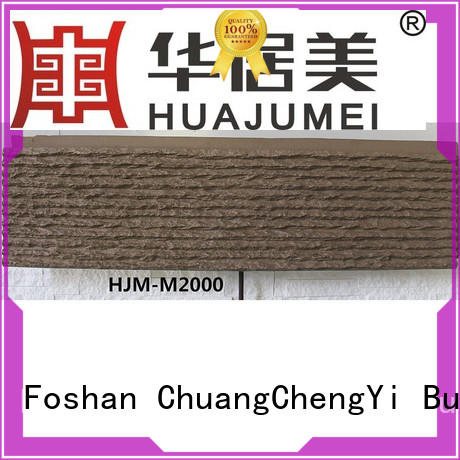 ChuangChengYi lightweight faux panels exterior stone for exhibition