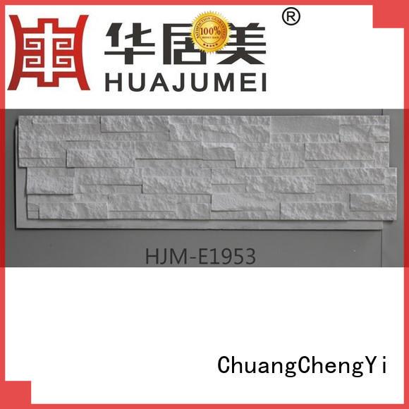 ChuangChengYi durable faux river rock siding producer for restaurant