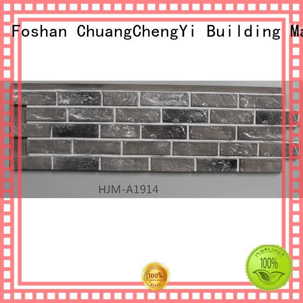 fake brick cladding clutured series ChuangChengYi Brand