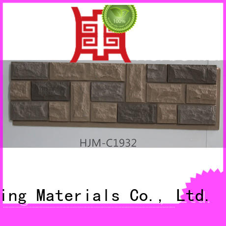 ChuangChengYi faux faux cobblestone panels producer for exhibition