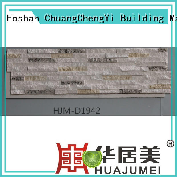 crystal material interior series ChuangChengYi Brand faux rock panels supplier