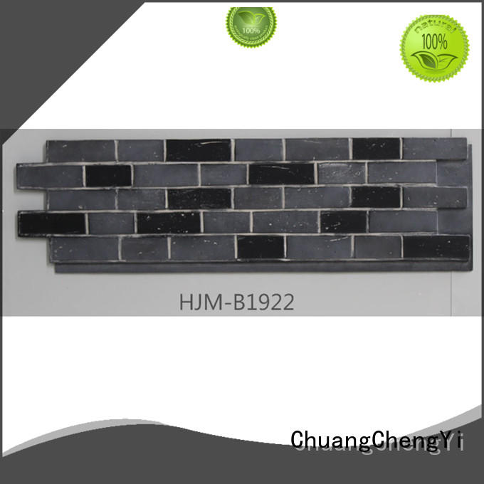 ChuangChengYi highdensity faux stone columns funk for retailer