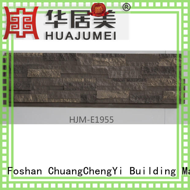 ChuangChengYi wall faux brick fireplace chic design for exhibition