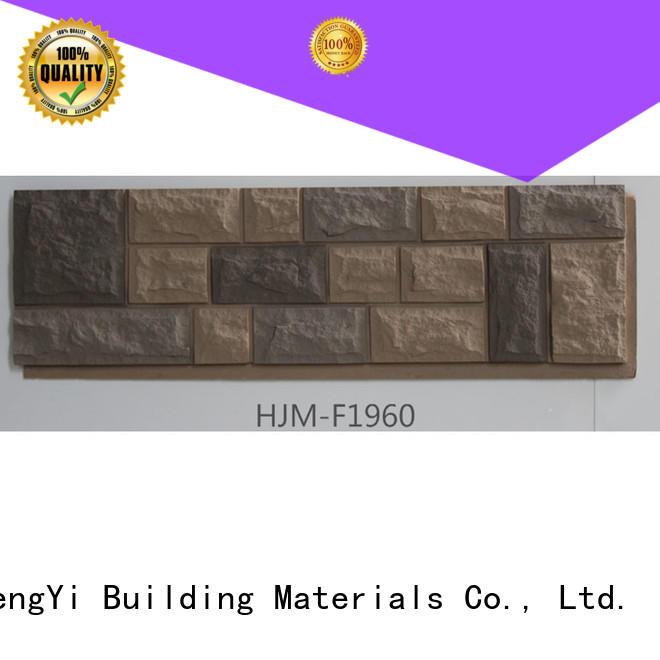 ChuangChengYi zero maintenance decorative faux stone factory price for exhibition