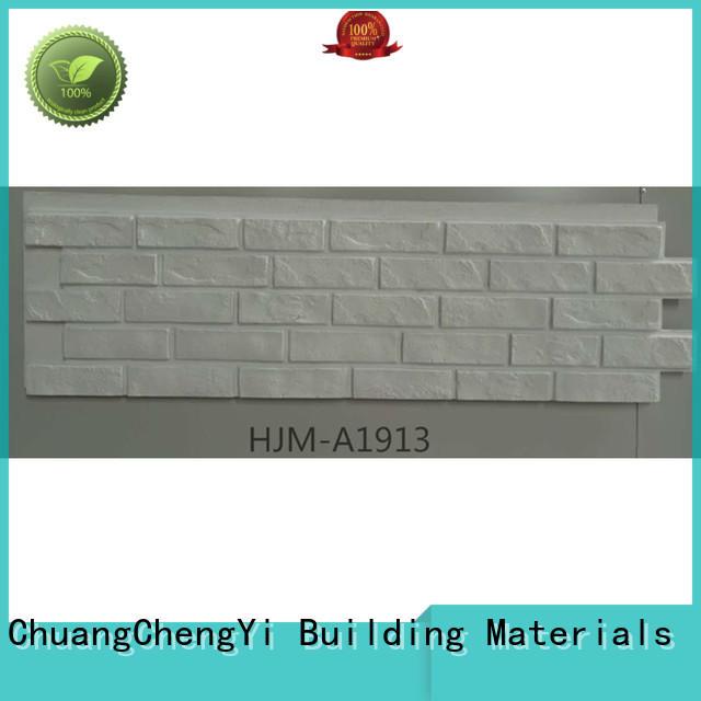 ChuangChengYi weatherproof faux stone facade bulk production for hotels