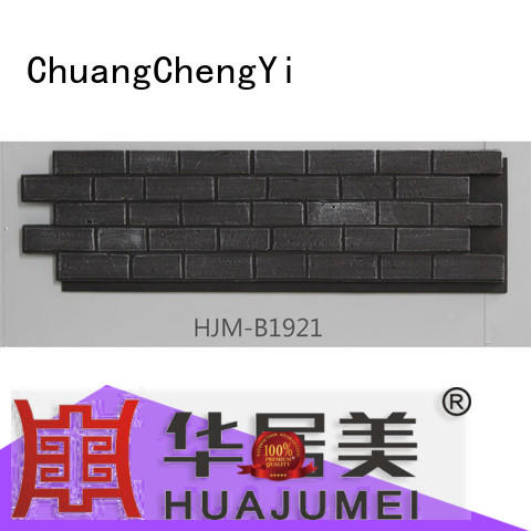 ChuangChengYi waterproof faux stacked limestone factory price for restaurant