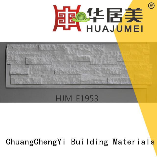 faux stone exterior siding material hjm faux rock panels series ChuangChengYi Brand