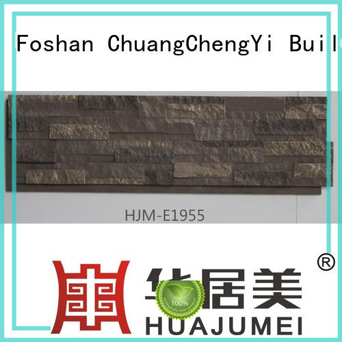 faux stone exterior siding material environmental series ChuangChengYi Brand