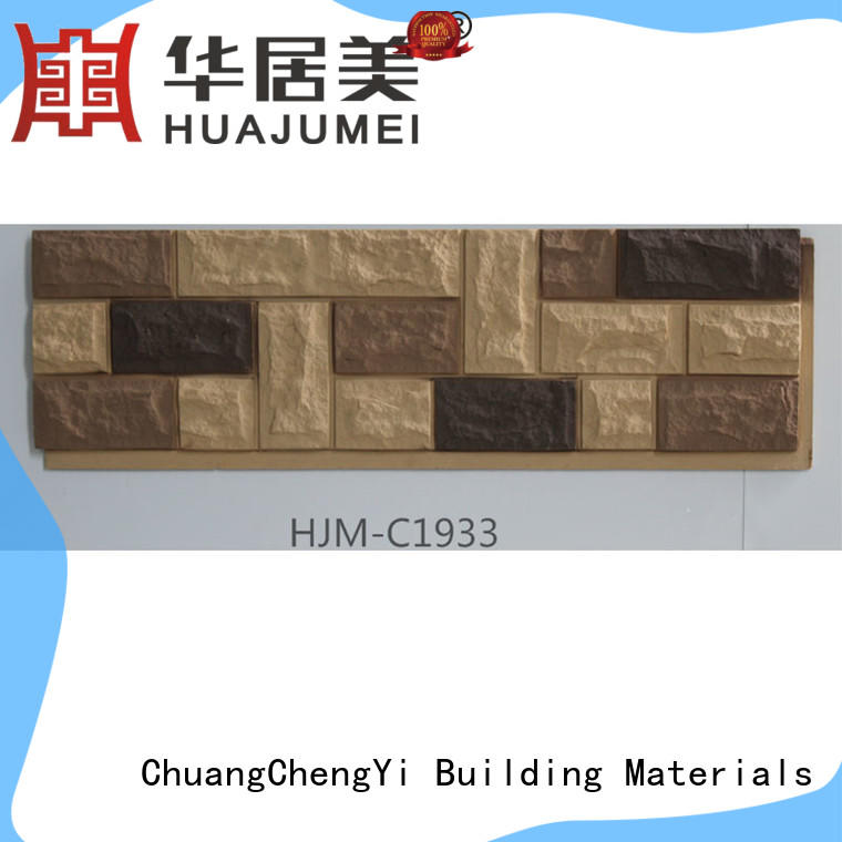 ChuangChengYi easy to install wholesale faux stone factory price for retailer