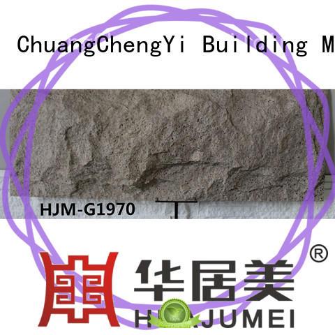 architecter polyurethane stone wall panels at-sale for amusepark ChuangChengYi