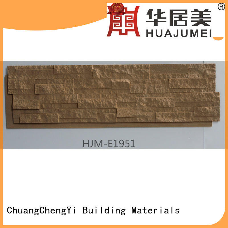 ChuangChengYi fire resistant faux stone panels 4x8 in china for accent walls