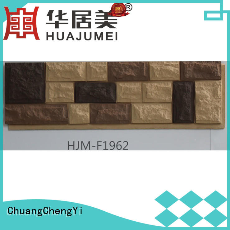 ChuangChengYi install faux brick panels chic design for accent walls