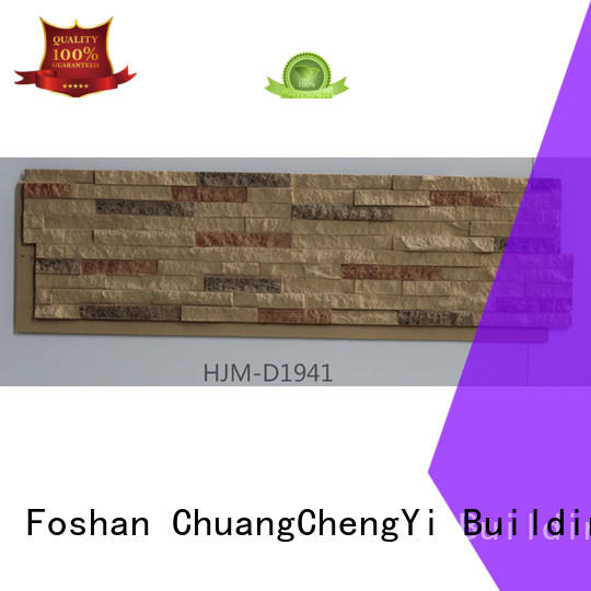 ChuangChengYi durable faux brick wall outdoor producer for houseowner