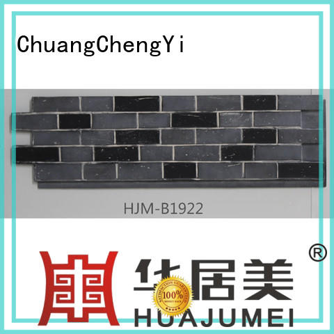 durable faux exterior stone wall panels in china for amusepark ChuangChengYi