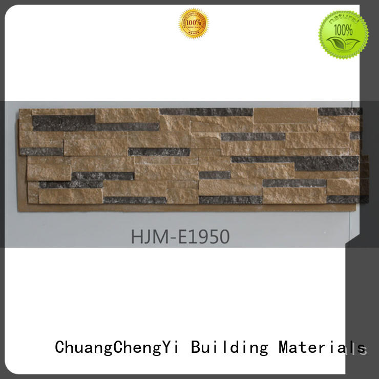 faux rock facing materials manufacturers for sign