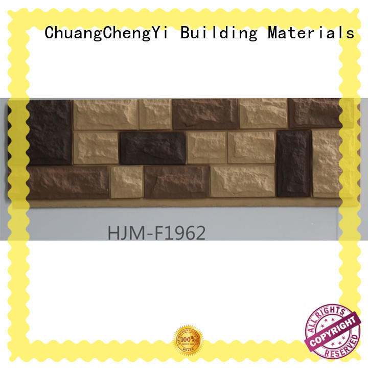 ChuangChengYi easy faux stone trim Suppliers for houseowner
