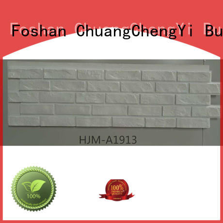 ChuangChengYi hjma1912 faux stone fireplace for business for sign