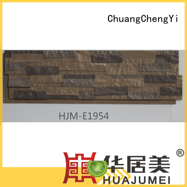 ChuangChengYi Brand series crystal faux stone exterior siding exterior supplier