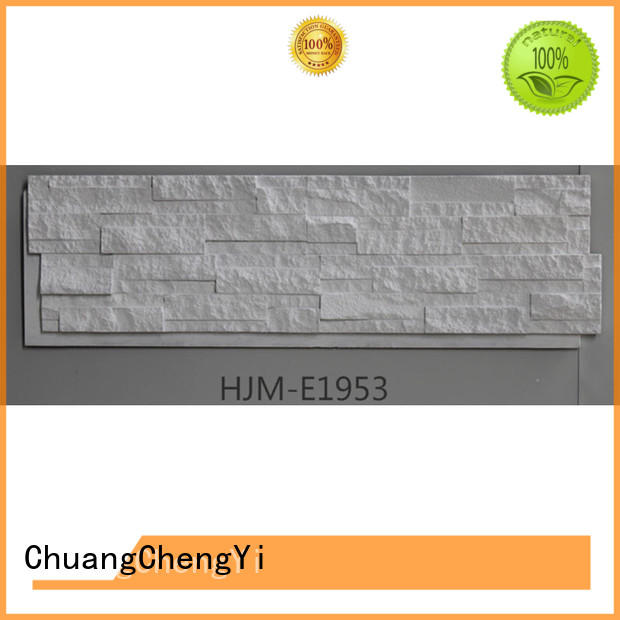 ChuangChengYi Brand crystal series faux stone exterior siding