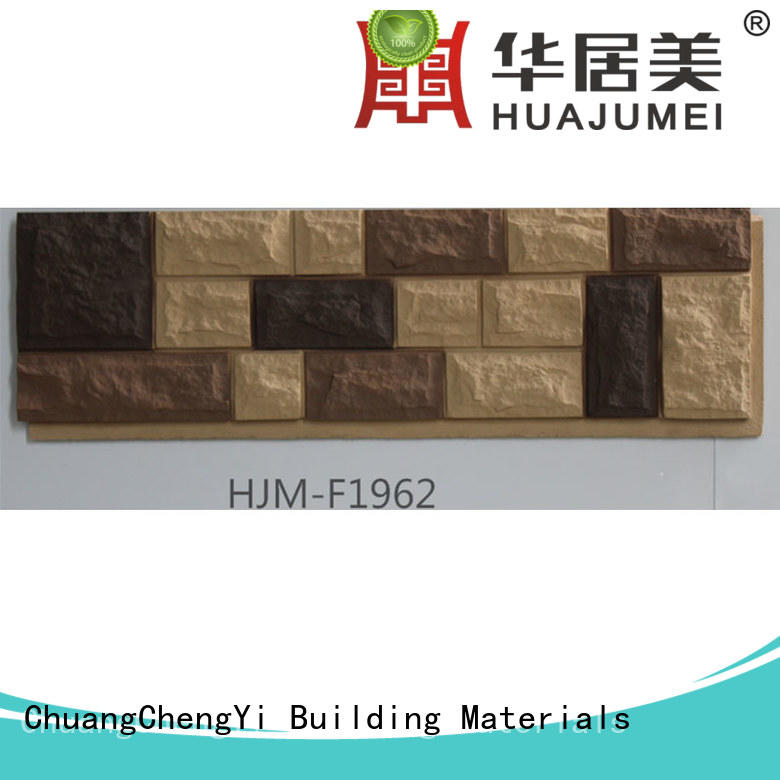 Wholesale faux limestone panels siding in china for exhibition