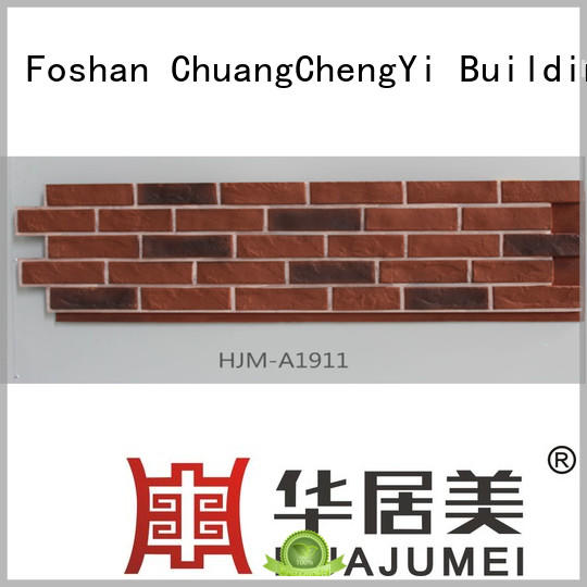 fireproof faux stone bricks artificial producer for retailer