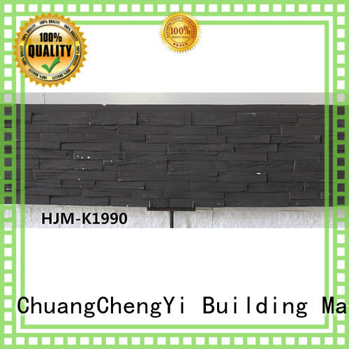 environmental interior rocklet home depot faux stone pu ChuangChengYi Brand